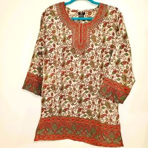 Uniti Casual One SIze Pull Over Blouse